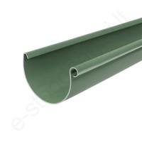 Bryza latakas 125/90 3m Žalias (Ral 6020) plastikinis, vnt