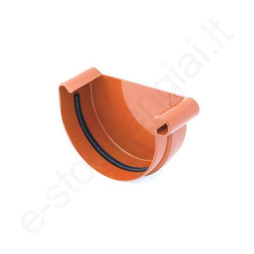 Bryza latako dangtelis D 125/90 Molio (Ral 8004) plastikinis, vnt