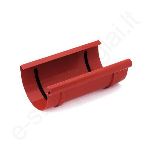 Bryza latako jungtis 125/90 Raudona (Ral 3011) plastikinė, vnt