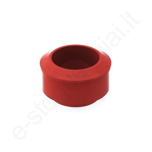 Bryza lietvamzdžio redukcija 125/90 Raudona (Ral 3011) plastikinė, vnt