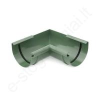 Bryza latako vidinis kampas 90° 125/90 Žalias (Ral 6020) plastikinis, vnt
