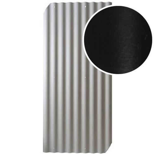Šiferis Cembrit EuroFala 2500x1150 Juodas CO/HO 2,44m², vnt
