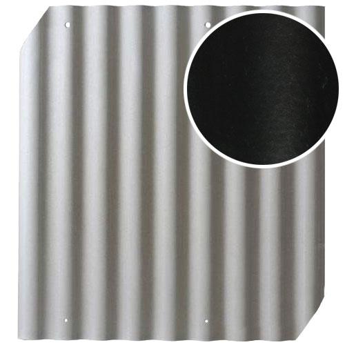 Šiferis Cembrit EuroFala 1250x1150 Juodas CO/HO 1,14m², vnt