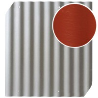 Šiferis Cembrit EuroFala 1250x1150 Raudonas CO/HO 1,14m², vnt
