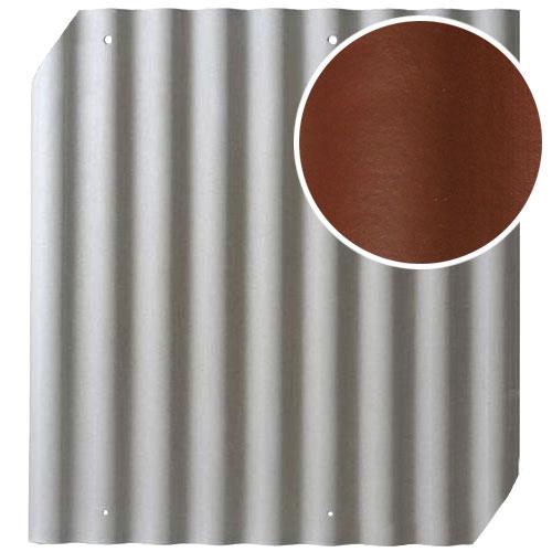 Šiferis Cembrit EuroFala 1250x1150 Rausvai Rudas CO/HO 1,14m², vnt