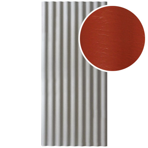 Šiferis Cembrit EuroFala 2500x1150 Raudonas 2,44m², vnt
