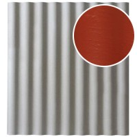 Šiferis Cembrit EuroFala 1250x1150 Raudonas 1,14m², vnt