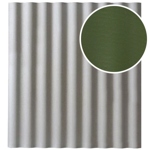 Šiferis Cembrit EuroFala 1250x1150 Žalias 1,14m², vnt