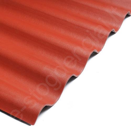 Šiferis Eternit AGRO PRO 1250x1097 t.raudona 1,1m², vnt