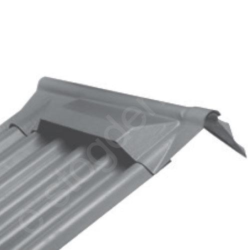 Kraigo gaubtas ventiliacinis Viršutinis Eternit AGRO PRO ruda