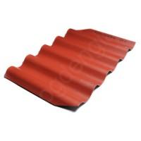 Šiferis Eternit Gotika 585x920 tamsiai raudona 0,4m², vnt