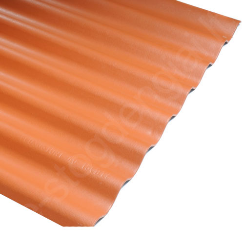 Šiferis Eternit Klasika 1250x1130 raudona molio 1,15m², vnt