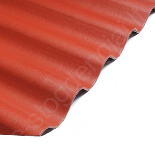 Šiferis Eternit Klasika 1250x1130 t.raudona 1,15m², vnt