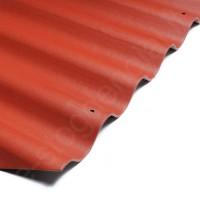 Šiferis Eternit Banga 875x920 t.raudona 0,65m², vnt