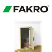Fakro karnizinės durys