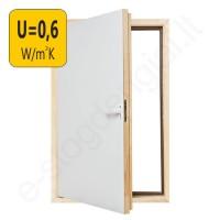 Fakro karnizinės durys DWT 55x80 cm YPATINGAI ŠILTOS, U=0,6 W/m²K
