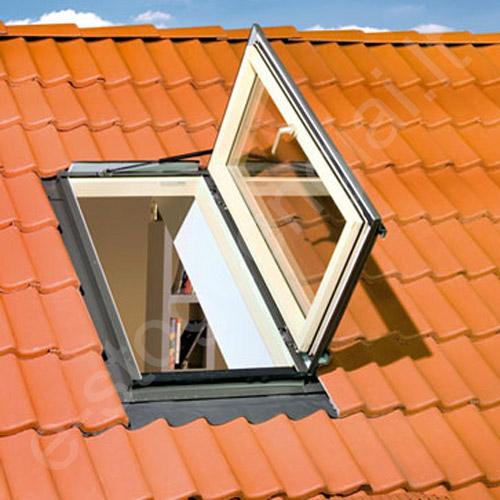 Fakro išlipimo langas FWR U3 78x118 Dešinys