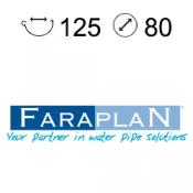 Faraplan 125/80