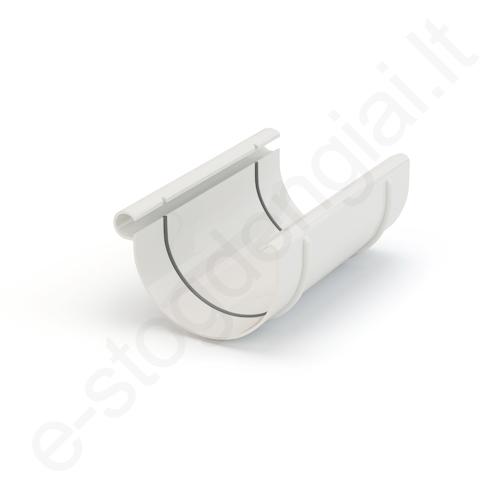 Gamrat latako jungtis 100/63 Balta (Ral 9010) plastikinė, vnt