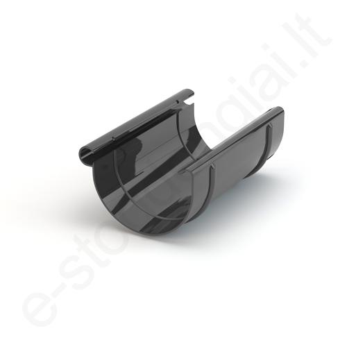 Gamrat latako jungtis 150/110 T.Pilka Grafito (Ral 7016) plastikinė, vnt
