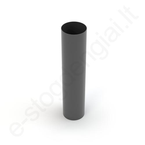 Gamrat lietvamzdis 100/90 3m T.Pilkas Grafito (Ral 7016) plastikinis, vnt