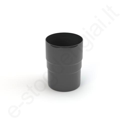 Gamrat lietvamzdžio jungtis 150/110 T.Pilka Grafito (Ral 7016) plastikinė, vnt