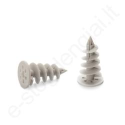 Spiralinis kaištis į polistireninį putplastį 28x50 mm prie Gamrat 75/63 TR, 10vnt