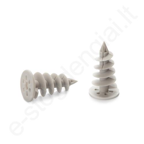 Spiralinis kaištis į polistireninį putplastį 28x50 mm prie Gamrat 125/90 TP, 10vnt
