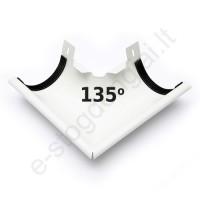 Latako išorinis kampas 135° 150/100 Baltas (Prelaq 001) Flamingo, vnt