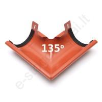 Latako išorinis kampas 135° 150/100 Molio (Prelaq 742) Flamingo, vnt