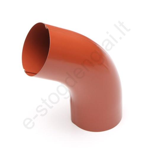 Lietvamzdžio viršutinė alkūnė 125/90 Molio (Prelaq 742) Flamingo, vnt
