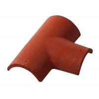 T formos kraigo čerpė Monier Zanda Protector molio raudonumo, vnt