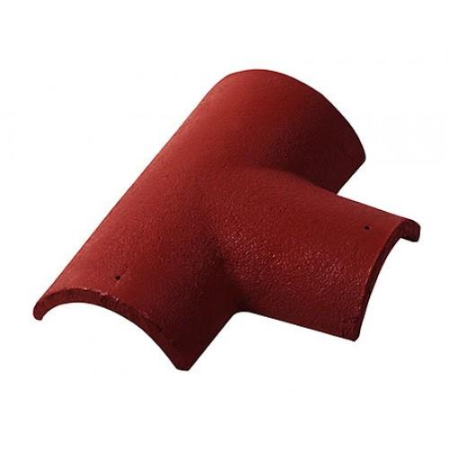 T formos kraigo čerpė Monier Zanda Protector raudona, vnt
