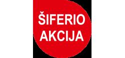 Šiferio Eternit Klasika akcija