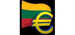 Nuo liepos 1 d. kainos rodomos tik eurais