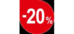 -20 proc nuolaida visiems Leier kaminams
