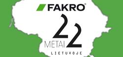 FAKRO 22 metai Lietuvoje! -22% PALĖPĖS LAIPTAMS (Akcija baigėsi)