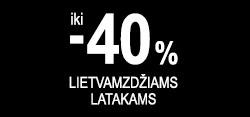 Iki -40% JUODOS NUOLAIDOS lietaus nuvedimo sistemoms