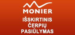 Išskirtinis Naujametinis Monier čerpių pasiūlymas! (Akcija baigėsi)