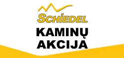 Kaminų Schiedel Rondo Plus akcija (Akcija baigėsi)
