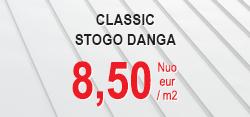 Classic stogo ir sienų danga nuo 8,5 eur/m2