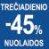 Trečiadieniais PIRKTI APSIMOKA! Šiandien NUOLAIDOS IKI -45%