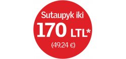 VELUX stoglangių akcija - sutaupyk 170 Lt
