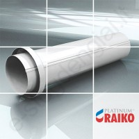 Lietvamzdžio įvadas į žemę Raiko Platinum 150/100 Magnelis plieninis, vnt