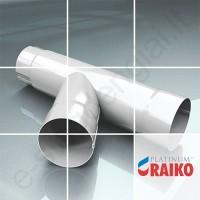 Lietvamzdžio trišakis Raiko Platinum 150/100 Magnelis plieninis, vnt