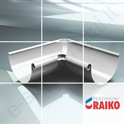 Latako vidinis kampas 90° Raiko Platinum 150/100 Magnelis plieninis, vnt