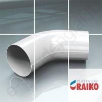 Lietvamzdžio viršutinė alkūnė Raiko Platinum 150/100 Magnelis plieninė, vnt