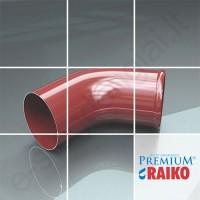 Lietvamzdžio apatinė alkūnė Raiko Premium 125/90 T.Ruda (Prelaq 444), vnt