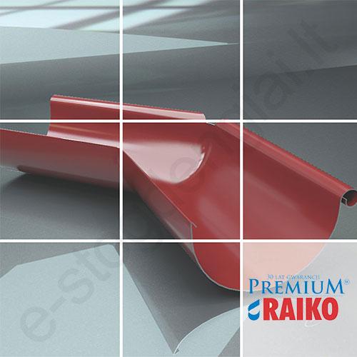 Latako išorinis kampas 135° Raiko Premium 125/90 Sidabrinis (Prelaq 044), vnt
