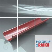 Latakas Raiko Premium 125/90 3m Pilkas grafito (Prelaq 087) plieninis, vnt